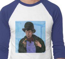 Davy Jones as The Artful Dodger Men's Baseball ¾ T-Shirt