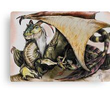Momma Dragon Canvas Print