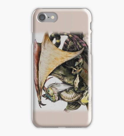 Momma Dragon iPhone Case/Skin