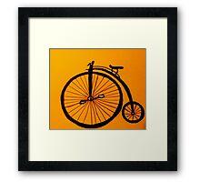 Funky Bike Framed Print