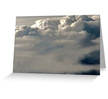 Another Set of Beautiful Cloud Formations Greeting Card