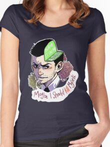 Blame it on my ADD (baby) Women's Fitted Scoop T-Shirt