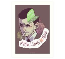 Blame it on my ADD (baby) Art Print