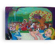 Alice in Wonderland - The Cheshire Cat Canvas Print