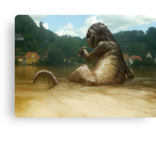 Dregs of the Flood Canvas Print