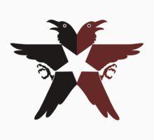 Infamous Second Son Eagle (Black & Red) by Irvin Pagan