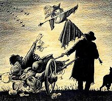 """ScarecrowHarvest""  by Sergei Rukavishnikov by Alenka Co"