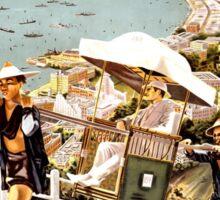 Vintage poster - Hong Kong Sticker