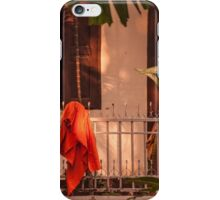Monk's Robe, Chiang Mai, Thailand  iPhone Case/Skin