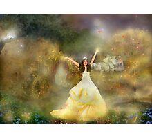 Grimm's Faerie Cinderella Photographic Print