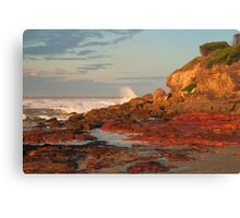 Stormy Sunset at Merimbula NSW Canvas Print