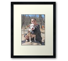 Seriously ~ My New Puppy ~ Framed Print