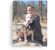 Seriously ~ My New Puppy ~ Canvas Print