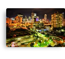 Groovy View Canvas Print