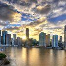 Brisbane City by Luke Griffin