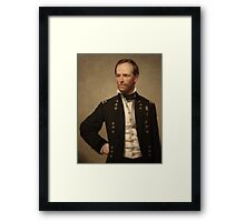 General William Sherman Framed Print