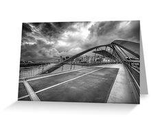 Goodwill Bridge Greeting Card