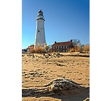 Fort Gratiot Lighthouse Photographic Print