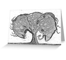 The Unmanageable Tree Greeting Card