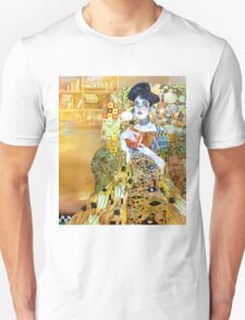 girl in library T-Shirt
