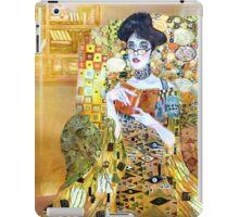 girl in library iPad Case/Skin