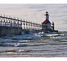 St. Joseph Lighthouse, St. Joseph, Michigan Photographic Print