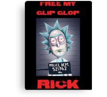 Free Rick Canvas Print