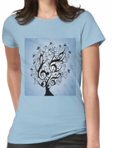TREE Womens Fitted T-Shirt