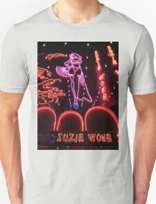 Suzie Wong's bar on Soi Cowboy (vertical) Unisex T-Shirt