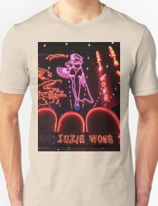 Suzie Wong's bar on Soi Cowboy (vertical) T-Shirt
