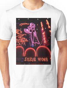 Suzie Wong's bar on Soi Cowboy (vertical) Unisex T-Shirt