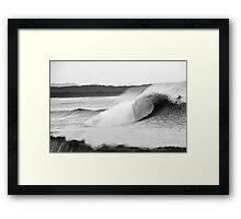 Magic Barrel- B&W Framed Print