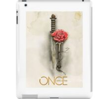 Once Upon a Time,  Dagger Rose, OUAT iPad Case/Skin