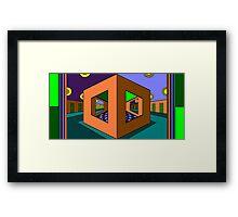 Tryangle Framed Print