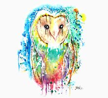 SNOW OWL - Watercolor bird painting - artwork by Jonny2may Tshirts + More! Unisex T-Shirt