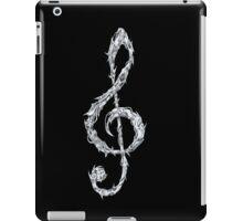 Metal Treble Clef iPad Case/Skin