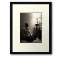 at your leisure Framed Print