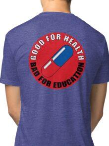 red circle Tri-blend T-Shirt