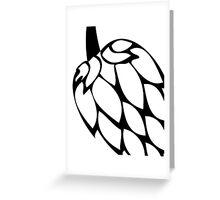 Beer Hops III Greeting Card