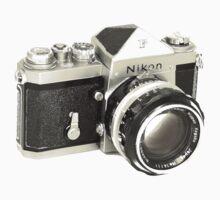Nikon F SLR Camera One Piece - Long Sleeve