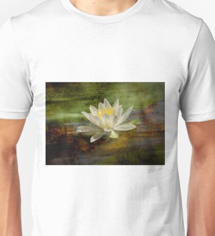 Artistic Fragrant Water Lily Unisex T-Shirt