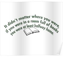 At Home in Books Poster