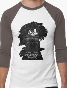 A Series of Unfortunate Events Men's Baseball ¾ T-Shirt