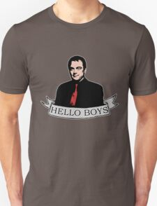 Crowley - Hello boys with banner Unisex T-Shirt