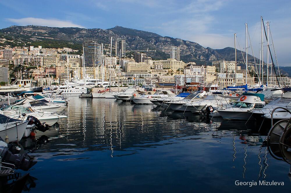 Postcard from Monte Carlo by Georgia Mizuleva