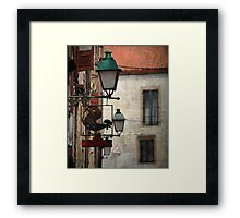 O Galo d´Ouro Framed Print