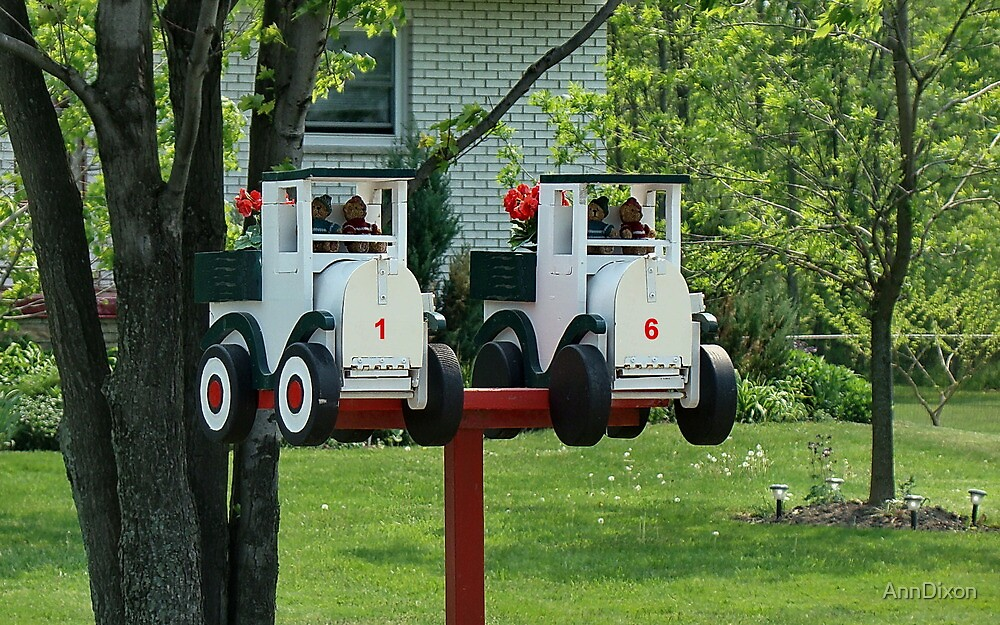 Twin Mailboxes by AnnDixon