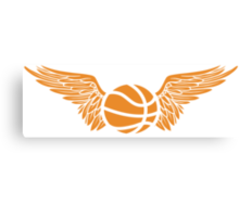 basketball wings Canvas Print