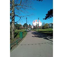 Bournemouth Balloon, Clear Sky Photographic Print