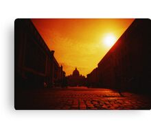 Red Vaticano - Lomo Canvas Print